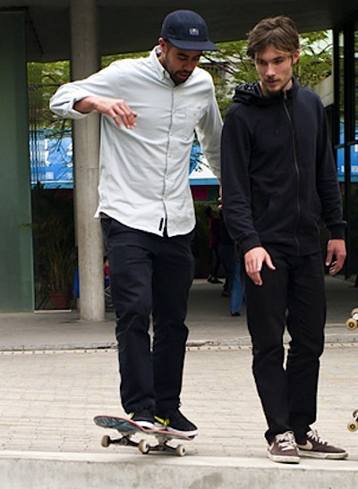 SkateEveryDamnDay-4人-SeanMaltoErickCostonAlexOlsonStefanJanoski