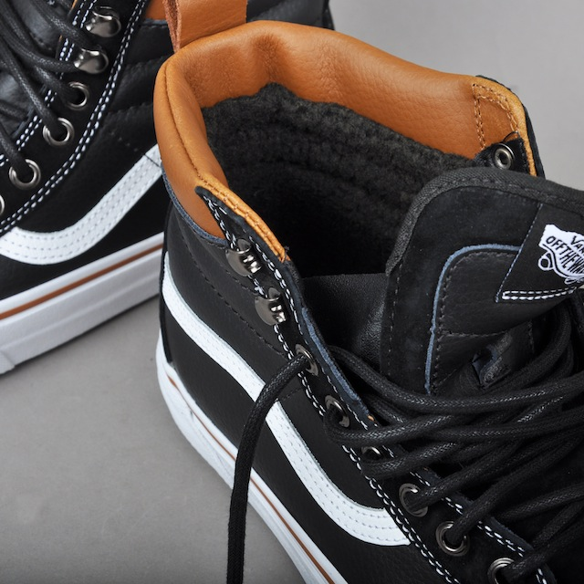Vans Sk8-Hi MTE, black _ true white  5
