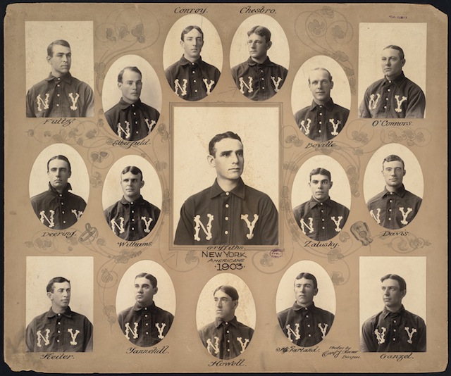 New_York_Highlanders_Baseball_Team,_1903